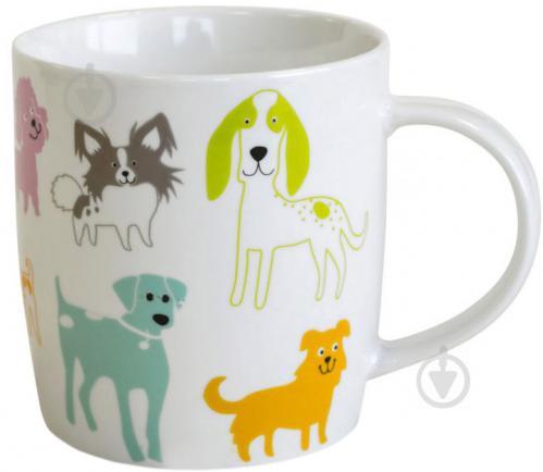 Чашка Цветные собачата 415 мл 21-272-045 Keramia - фото 3