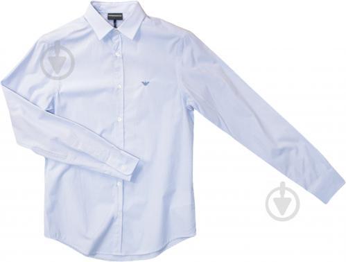 Рубашка Emporio Armani CAMICIA UOMO / MAN SHIRT 8N1C751V04Z-F709 р. XL голубой - фото 1