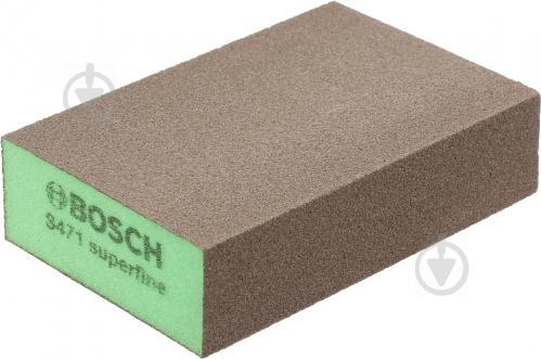 Губка шлифовальная Bosch Super fine B.f. Flat and 2608608228