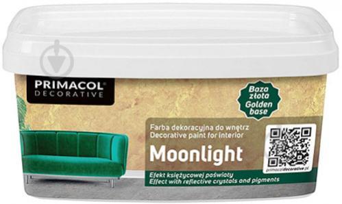 Декоративная краска PRIMACOL DECORATIVE Moonlight серебро 1 л - фото 1