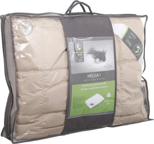 Одеяло Helga I 155х215 см бежевый Songer und Sohne - фото 3