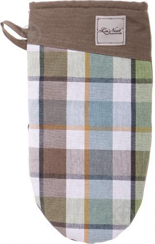 Прихватка-рукавиця Scotland Green 15x29 см зелений La Nuit