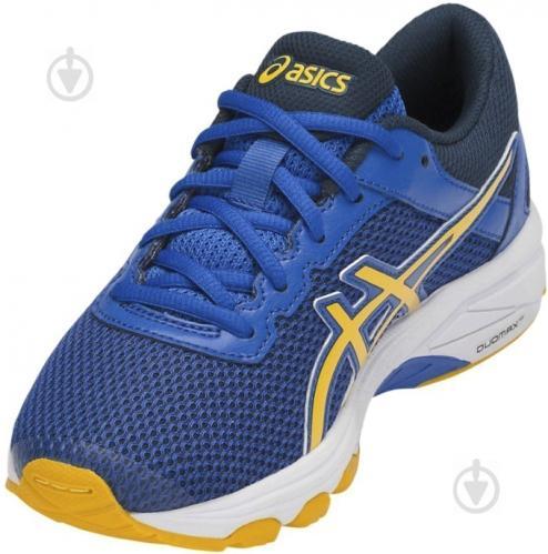 Кроссовки Asics GT-1000 6 GS C740N-4504 р. 1,5 сине-желто-темно-синий - фото 4