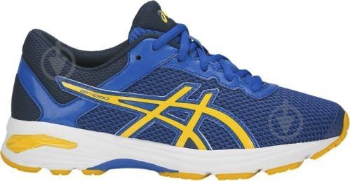 Кроссовки Asics GT-1000 6 GS C740N-4504 р. 1,5 сине-желто-темно-синий - фото 2