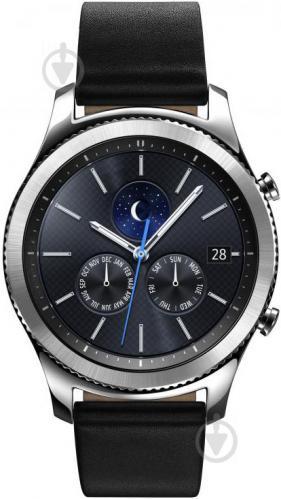 ᐉ Смарт-годинник Samsung Gear S3 Classic (SM-R770NZSASEK) • Краща ... e9f8ef1c7dda5