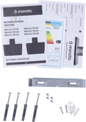 Витяжка Minola HDN 6212 IV 700 LED - фото 11