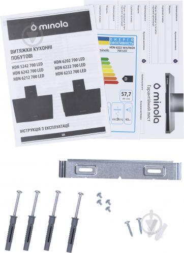 Витяжка Minola HDN 6232 WH/INOX 700 LED - фото 11
