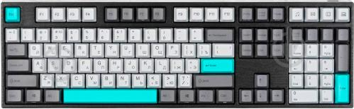 Клавіатура Varmilo MA108M Moonlight EC Sakura V2 RU (MA108MO2W/LLPN2RB) grey - фото 1