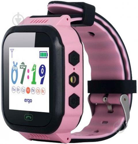 Смарт-годинник Ergo GPS Tracker Color J020 дитячий трекер pink (GPSJ020P)