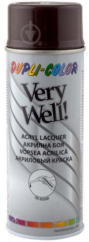 Эмаль аэрозольная Dupli-Color Very Well RAL 8017 шоколадно-коричневый глянец 400 мл