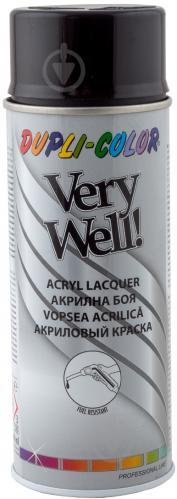 Эмаль аэрозольная Dupli-Color Very Well RAL 9005 черный глянец 400 мл