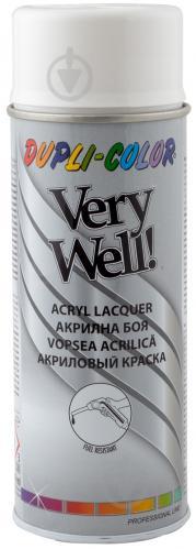 Емаль аерозольна Dupli-Color Very Well RAL 9010 біла глянець 400 мл