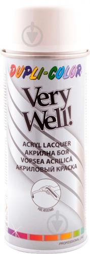 Емаль аерозольна Dupli-Color Very Well RAL 9002 сіро-білий глянець 400 мл