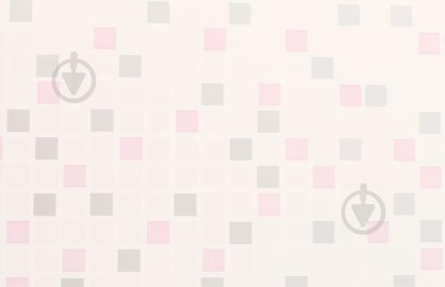Панель ПВХ Мозайка сіро-рожева YG8217 7.0x250x2970 мм (0,7425 кв. м) - фото 2