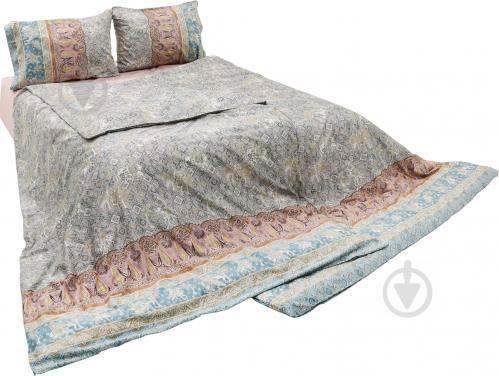 ᐉ Комплект постільної білизни Jasmine 6 сімейний сірий Granfoulard ... 90e2a5653e984