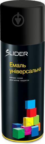 Эмаль аэрозольная RAL9005 SLIDER черный глянец 400 мл