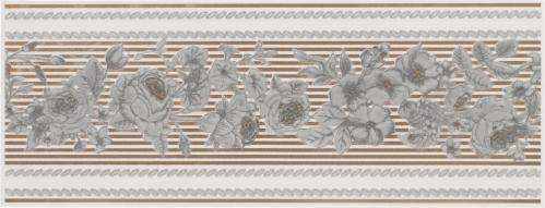 Плитка Атем MONIKA Rose фриз 9,6x25 - фото 1