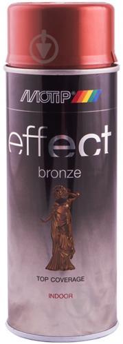 Краска аэрозольная Motip Deco Effect с эффектом бронзы медь 400 мл