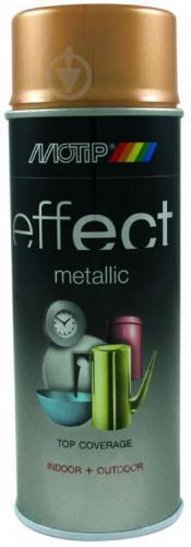 Краска аэрозольная Motip Deco Effect с эффектом металлик античное золото 400 мл
