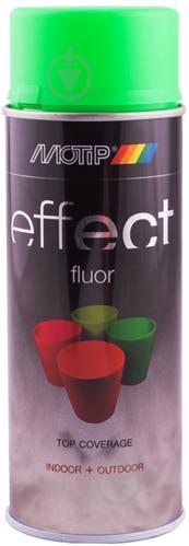 Краска аэрозольная Motip Deco Effect флуоресцентная зеленый 400 мл