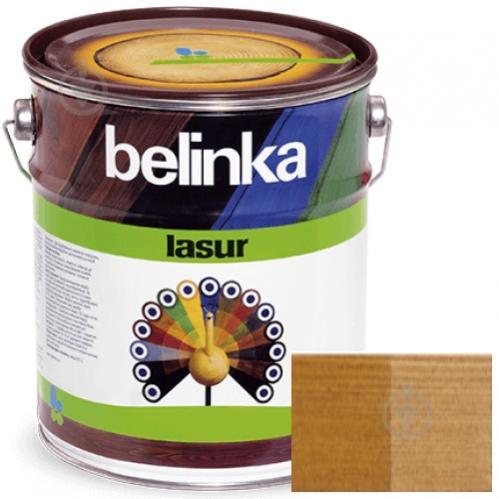 Краска-лазурь Belinka Lasur 16 орех мат 2,5 л - фото 1