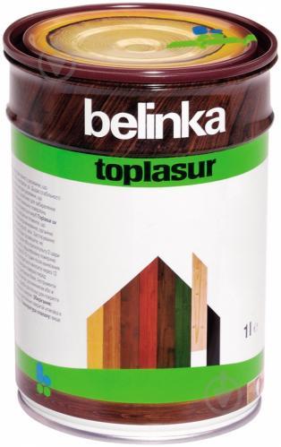 Краска-лазурь Belinka Toplasur 12 бесцветный полуглянец 1 л - фото 2