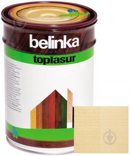 Краска-лазурь Belinka Toplasur 12 бесцветный полуглянец 1 л - фото 1