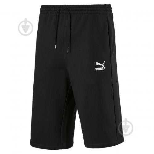 Шорты Puma Classics Logo Shorts 12' 57796301 р. S черный