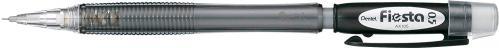 Карандаш механический Фиеста 0,5 мм черный AX105-A Pentel - фото 1