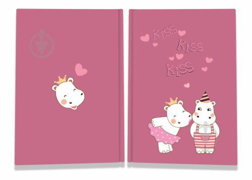 Блокнот Sweet love note hippos А6 40 арк. Profiplan - фото 1