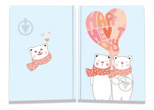 Блокнот Sweet love note bears А6 40 арк. Profiplan - фото 1