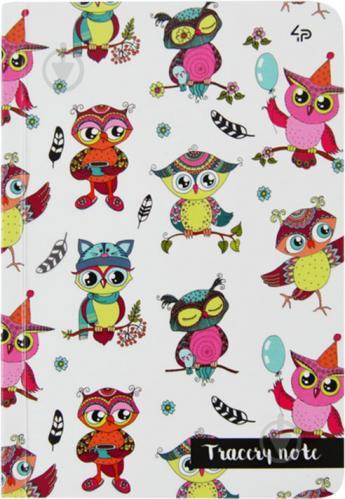 Блокнот Tracery note owls A6 40 арк. Profiplan - фото 1