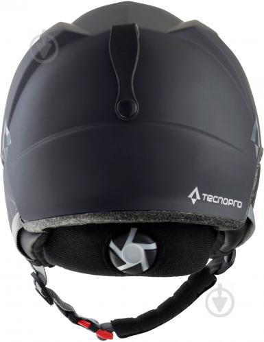 Горнолыжный шлем TECNOPRO Dynamy S212 270467 р. M черный - фото 2