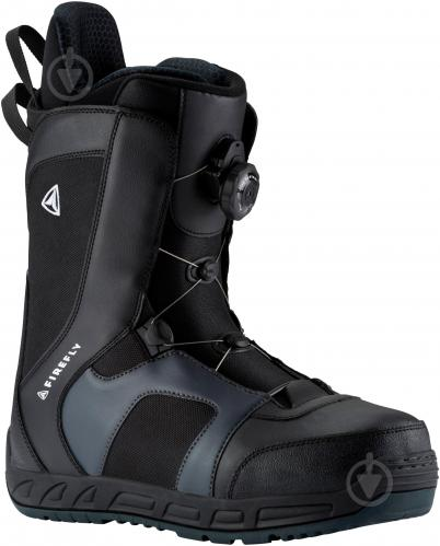 Ботинки для сноуборда Firefly A60 AT р. 26,5 270401 черный с серым