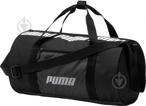 22e853c4cbdc Спортивная сумка Puma Small Women's Barrel Bag 07570401 20 л черный