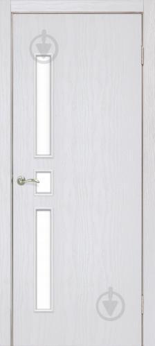 Дверне полотно ПВХ ОМіС Комфорт ПО 600 мм ясен перламутр