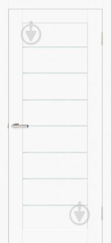 Дверное полотно ОМиС Cortex deco 10 ПО 800 мм белый матовый