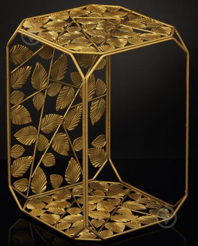 Подставка декоративная золото Прямоугольник №16 B 300x300x450мм TRID HOUSE - фото 1