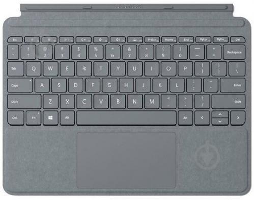 Клавіатура бездротова Microsoft Surface GO (TZL-00002) Type Cover Charcoal - фото 1