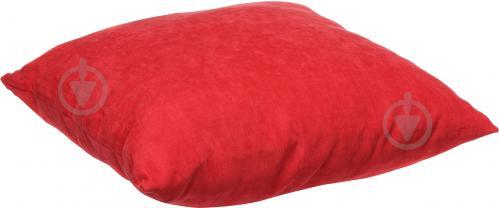 Подушка декоративна 45x45 см червоний - фото 2
