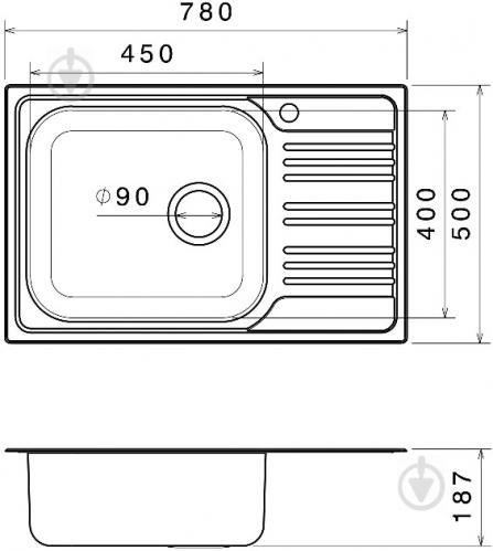 Мойка для кухни Festrum F168 - фото 3