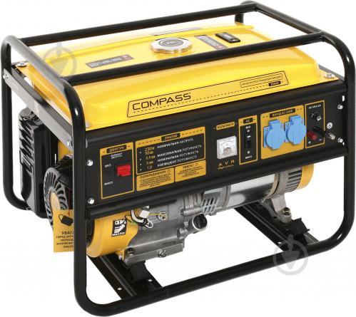 Генератор бензиновый Compass ZH6500 - фото 1