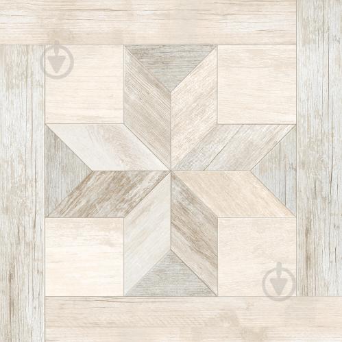 Плитка InterCerama Listo коричневий світлий 43x43 (205 031) - фото 1