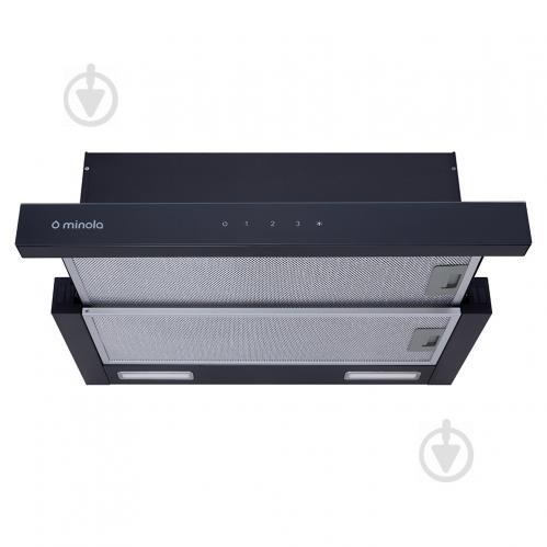 Вытяжка Minola HTLS 6935 BL 1300 LED - фото 1