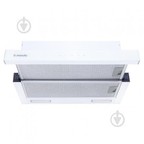 Вытяжка Minola HTLS 6735 WH 1100 LED - фото 1