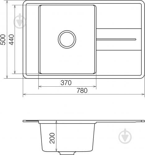 Мойка для кухни Water House Bliss BMP 02.78 black - фото 4