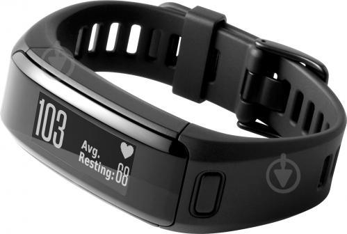 ᐉ Смарт-годинник Garmin Vivosmart HR E EU Large black • Краща ціна ... abf9e144822f9