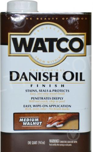 Масло WATCO Датское тонирующее классический орех полуглянец 0,946 л - фото 1
