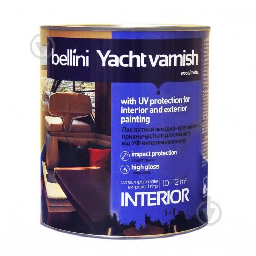 Лак яхтный алкидно-уретановый Bellini глянец 2,5 л - фото 1