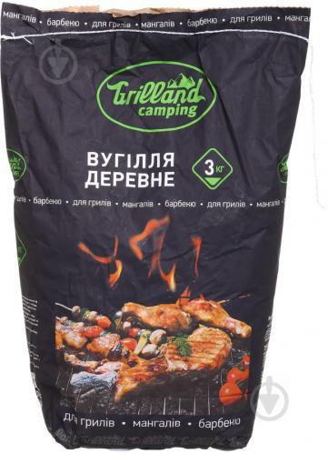 Уголь древесный Grilland 3 кг - фото 1